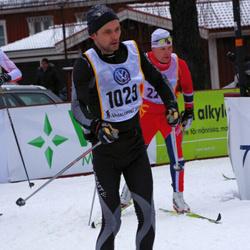 Skiing 90 km - Fredrik Olausson (1029)