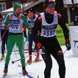 Skiing 90 km - Fredrik Mohall (2339)