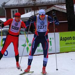 Skiing 90 km - Mattias Fritz (2277), Eero Antons (10000)