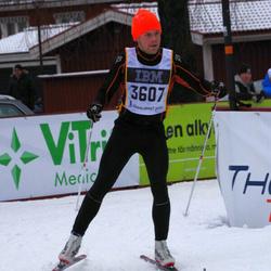 Skiing 90 km - David Fransson (3607)