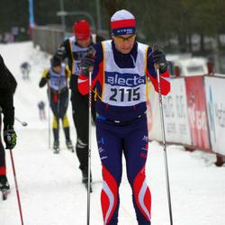 Skiing 90 km - Edvard Linderson (2115)