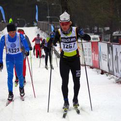 Skiing 90 km - Brice Viard-Gaudin (1267), Björn Strindlund (4323)