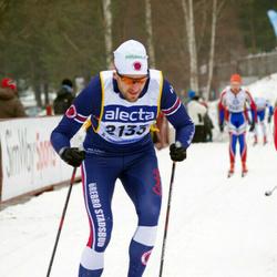 Skiing 90 km - Henrik Sandén (2133)