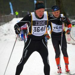 Skiing 90 km - Carl-Johan Medin (3646)
