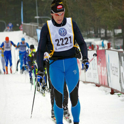 Skiing 90 km - Anders Lindroos (2221)