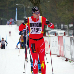 Skiing 90 km - Henrik Andersson (5190)