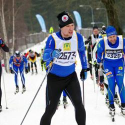 Skiing 90 km - Henrik Bergqvist (12573)
