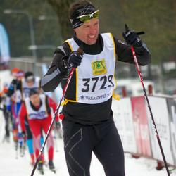 Skiing 90 km - Dennis Franzén (3729)