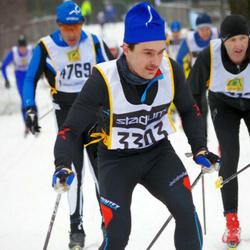 Skiing 90 km - Christian Lofthammar (3303)