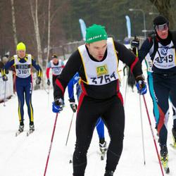 Skiing 90 km - Henrik Sjöström (3764)
