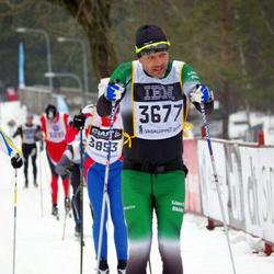 Skiing 90 km - Anders Rennermalm (3677)