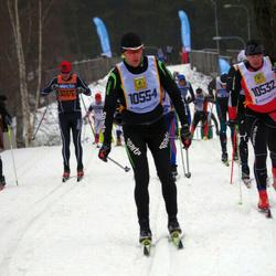 Skiing 90 km - Harri Pasila (10532), Aivar Juhandi (10554)