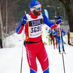 Skiing 90 km - Daniel Ljungkvist (3695)