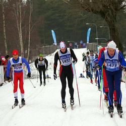 Skiing 90 km - Torbjörn Andersson (3478), Torbjørn Herder Kaggerud (3499), Daniel Einås (4548)