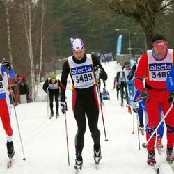 Skiing 90 km - Torbjørn Herder Kaggerud (3499), Daniel Einås (4548)
