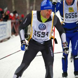 Skiing 90 km - Henrik Sjögren (3594)