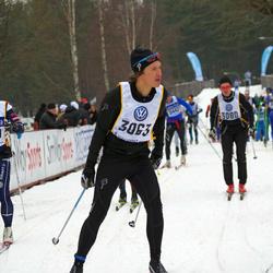 Skiing 90 km - Fredrik Dennbrink (3063), Andreas Davidson (4139)