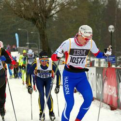 Skiing 90 km - Bo-Erik Söderlund (4561), Mats Nordbrøden (10377), Stig Jensaas (11945)