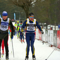 Skiing 90 km - Bo-Erik Söderlund (4561), Stig Jensaas (11945)