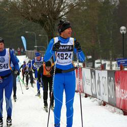 Skiing 90 km - Jonas Kyrö (3543), Henrik Attorps (4924)