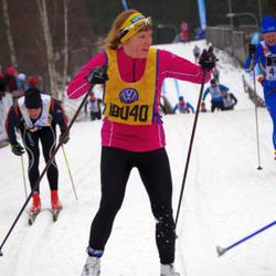 Skiing 90 km - Amy Rankka (18040)