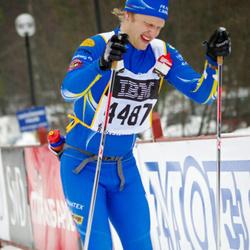Skiing 90 km - Christoffer Fornander (4487)