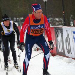 Skiing 90 km - Åke Karlsson (30209)
