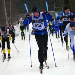 Skiing 90 km - Aron Hjertberg (4478), Martin Jonsson (5107)