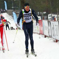 Skiing 90 km - Henrik Dellborg (4864)
