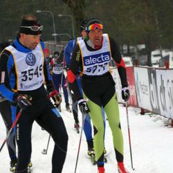 Skiing 90 km - Jari Laitamäki (3549), Pino Finco (5777)