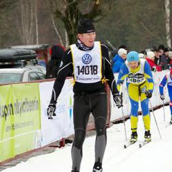Skiing 90 km - David Jönsson (14018)
