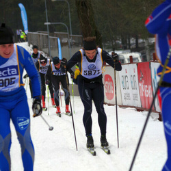 Skiing 90 km - Anders Wadman (5872)