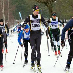 Skiing 90 km - Peter Ragnar (4195), Egil Wallin (5055)