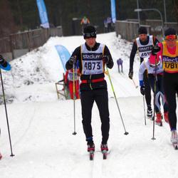 Skiing 90 km - Henrik Bohlin (4873)