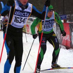 Skiing 90 km - Anders Sahlin (4153), Michael Nimsch (16347)