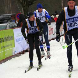 Skiing 90 km - Mikael Hjalmarsson (4227), David Pettersson (5416)
