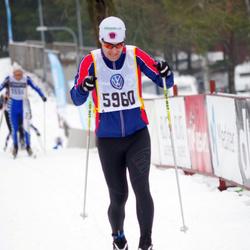 Skiing 90 km - Daniel Gustafsson (5960)