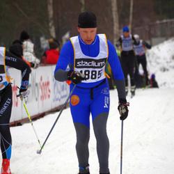 Skiing 90 km - Christoffer Bergman (4885)