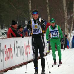 Skiing 90 km - Daniel Sundqvist (16471)