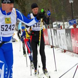 Skiing 90 km - Arne Nilsson (5242), Christer Jonsson (6319)