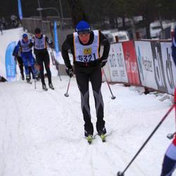 Skiing 90 km - Henrik Alsbäck (5321)