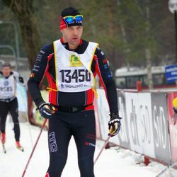 Skiing 90 km - Fredrik Eljas (13450)