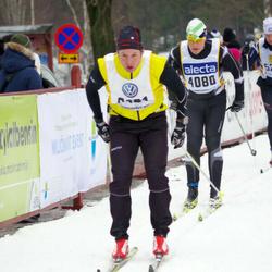 Skiing 90 km - Anders Jorholm (4080), Markus Eskilson (6121)