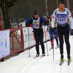 Skiing 90 km - Daniel Spiro (4669), Ole Richard Kolstad (5663)