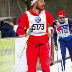 Skiing 90 km - Anders Larsson (5745), Igor Deola (15173)