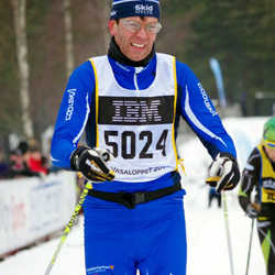 Skiing 90 km - Henrik Fahlén (5024)