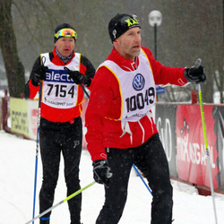 Skiing 90 km - Andreas Kempe (7154), Anders Svensson (10049)
