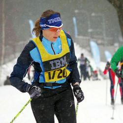 Skiing 90 km - Jenny Johansson (17200)