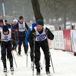 Skiing 90 km - Fredrik Levander (8586)