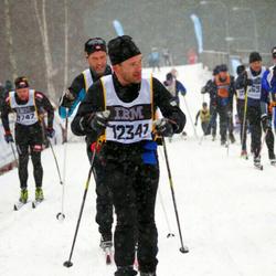 Skiing 90 km - Erik Timner (12341)
